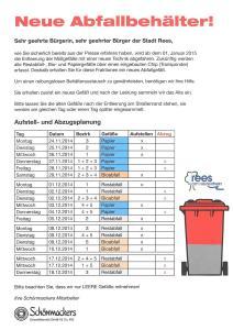 Information Firma Schönmackers - ins Bild klicken