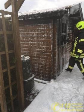 Feuerwehr Rees – Kleingebäudebrand