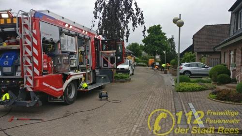 Feuerwehr Rees – Wasserschaden