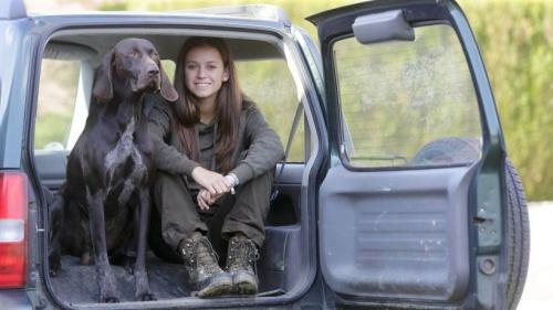 Elisa Maas aus Millingen ist die jüngste Jägerin in NRW | NRZ.de | Emmerich Rees Isselburg