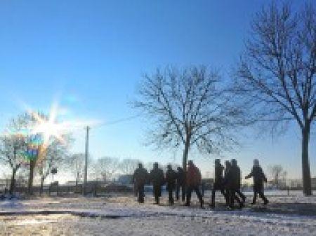 Schneemänner grüßten im Fischerviertel - | WAZ.de