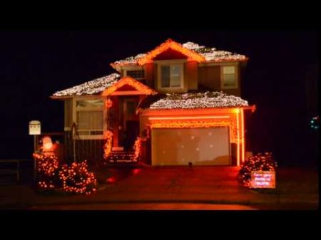 2014 Amazing Grace 2014 LightORama Christmas Light Show - YouTube