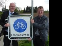 Rees: Millingen: Freie Fahrt für Radler auf der Fahrradstraße