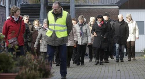Rees: Rund 40 Millinger wandern gemeinsam ins neue Jahr