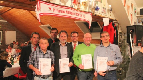 Karl Verbeet ist seit 70 Jahren bei Fortuna Millingen | Emmerich Rees Isselburg | NRZ.de
