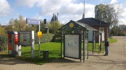 Rees: Bus und Bahn nicht abgestimmt