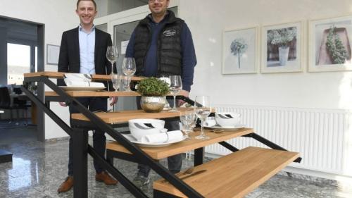 Der Swing-Tisch aus Millingen stößt weltweit auf Bewunderung | NRZ.de | Emmerich Rees Isselburg