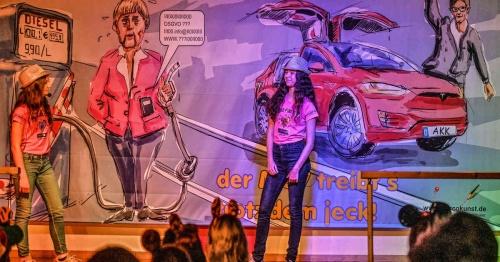 Junge Talente überzeugen bei Karnevalssitzung in Rees-Millingen