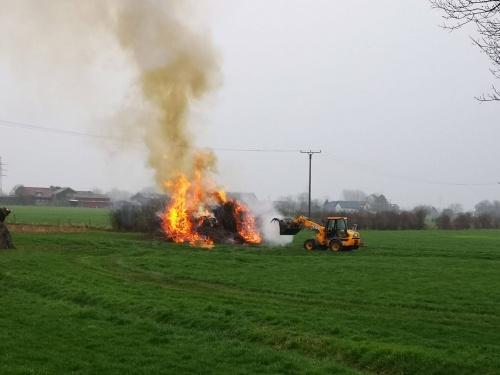 unklare Rauchentwicklung – Feuerwehr Rees