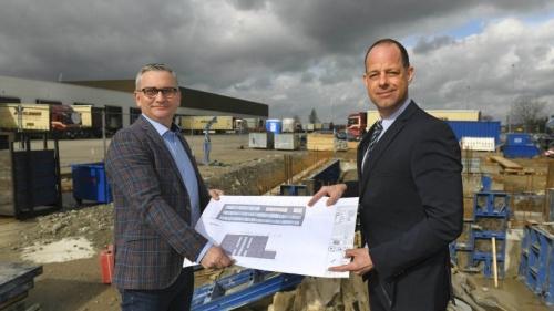 Spedition Hövelmann in Empel: Start für neues Bürogebäude | nrz.de | Emmerich Rees Isselburg
