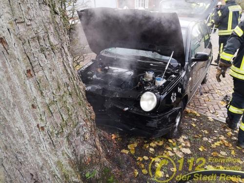 Fahrzeugbrand – Feuerwehr Rees